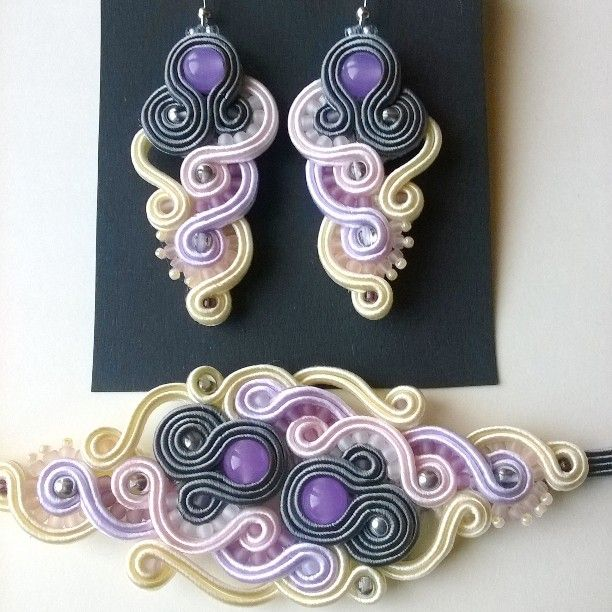 VenoraArt soutache jewelry)   Iconosquare