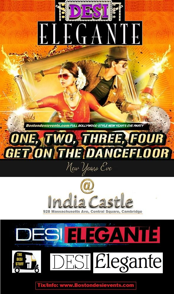 Desi Elegante | New Years Eve Bash at India Castle Tickets on sulekha. Event Venue Held on India Castle Lounge, Cambridge,MA. Also View new years eve, new years eve party, new year eve, new years party, new years eve events, new years eve 2016, new year celebration