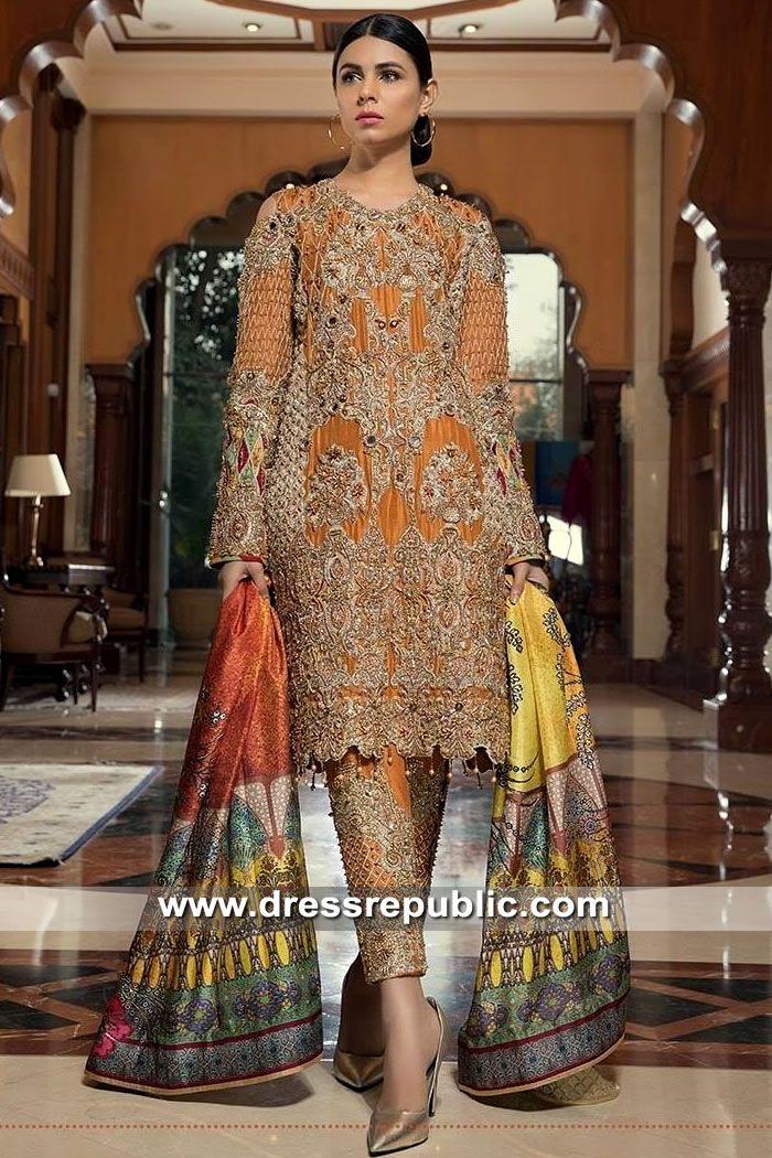 83e54b8738 Burnt Orange Ozamiz in 2019 | Wedding Guest Dresses | Dresses, Designer  dresses, Pakistani dress design
