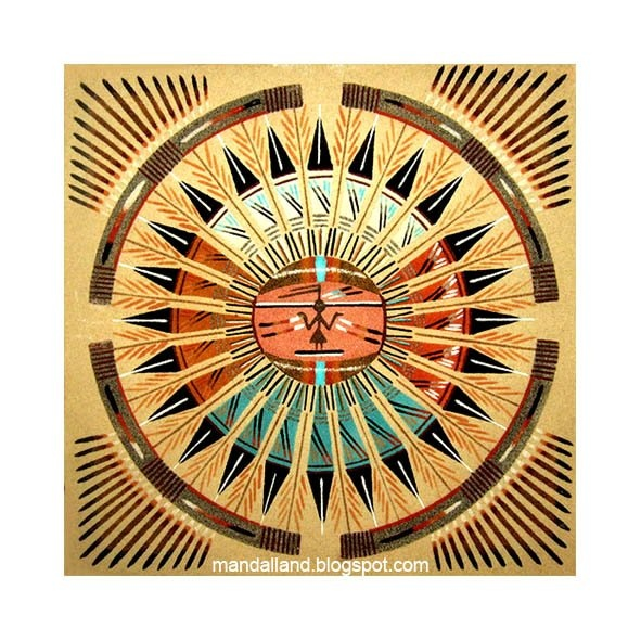navajo sand painting coloring pages - photo#23