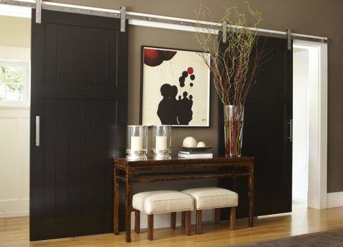 images of unusual interior doors   Sliding Barn Doors for Unique Interior Design Ideas ...