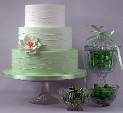 mint green ombre wedding cake 1000 ideas about mint green cakes on pretty 17448