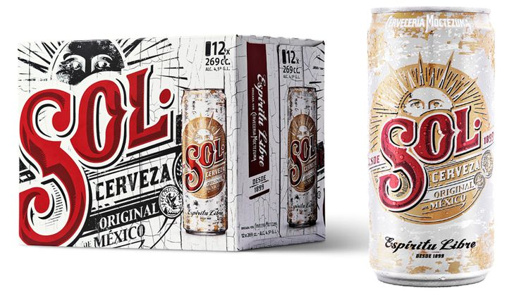 Resultado de imagen de envases cerveza mejicana