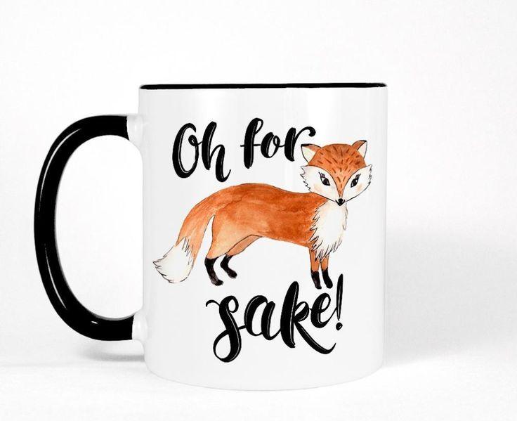 Funny Fox mugs   mugen  beer tea coffee Cups novelty ceramic mugen