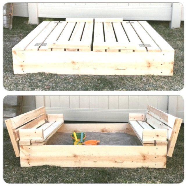 35 DIY Sandboxen Ideen, die Ihre Kinder lieben werden – DIY-Projekte von Big DIY Ideas