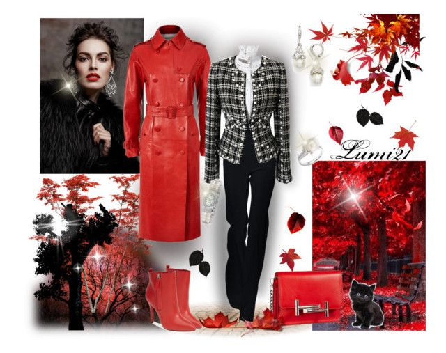 fall by lumi-21 on Polyvore featuring Alexander McQueen, Valentino, Chanel, Pour La Victoire, Tod's, Tara, Givenchy and Bling Jewelry