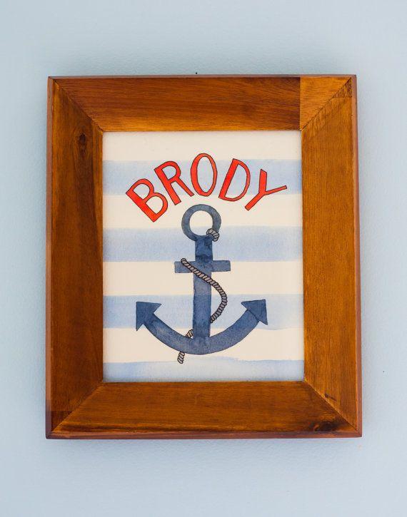 #sailor #anchor #babyname #stripes
