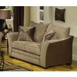 $619.00 Jackson Furniture - Perimeter Loveseat in Camel / Godiva Fabric - 3262- 02