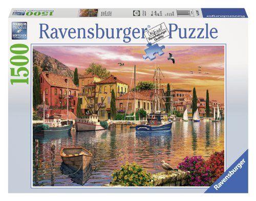 Ravensburger Mediterranean Flair Jigsaw Puzzle (1500-Piece) Ravensburger http://smile.amazon.com/dp/B00EU7CDCC/ref=cm_sw_r_pi_dp_UP6Fub0TVK2R9