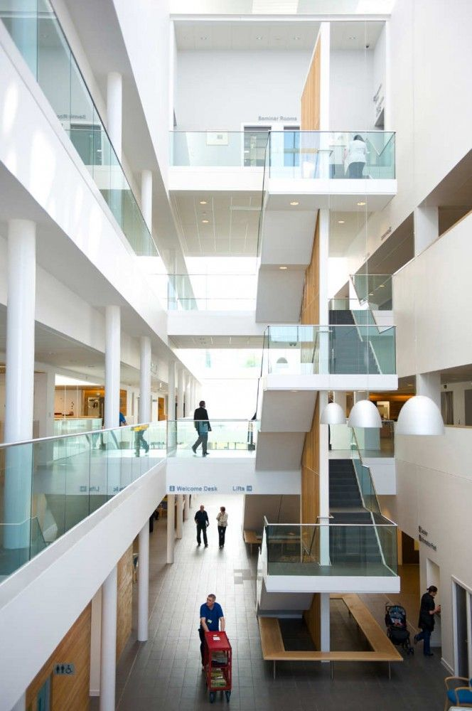New Stobhill Hospital Reiach And Hall Architects