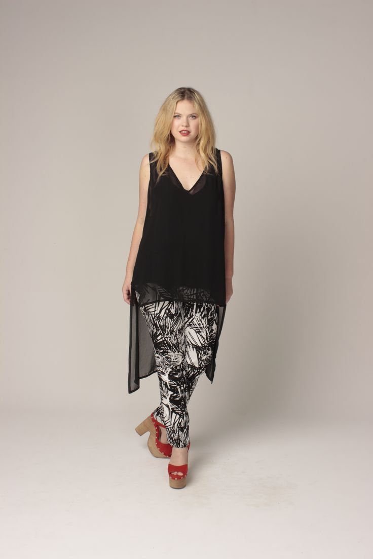 TCD spring 13 - rogue tunic and lucy pant. Curvy summer fashion size 12-24