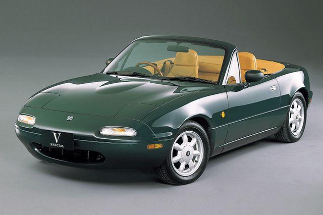 Nostalgic2days特別展示車両 1990年式マツダ初代ロードスターVスペシャル