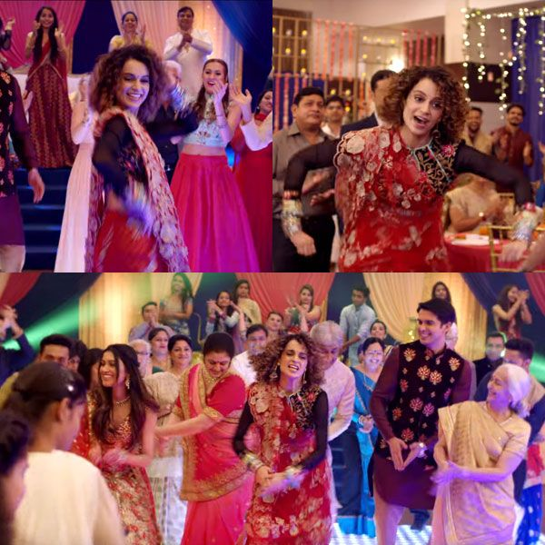 Simran song Lagdi Hai Thaai: After London Thumakda, Kangana Ranaut features in another groovy number that will be a wedding… #FansnStars