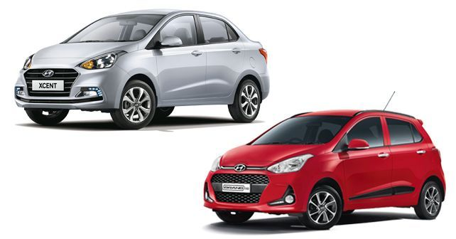 Hyundai Xcent And Grand I10 Updated With More Features Hyundai