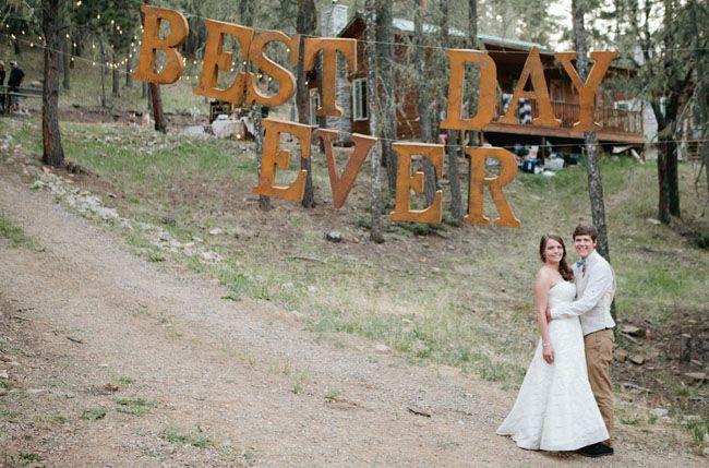 Best Day Ever Wedding: Sarah + Tyler-    How cute!