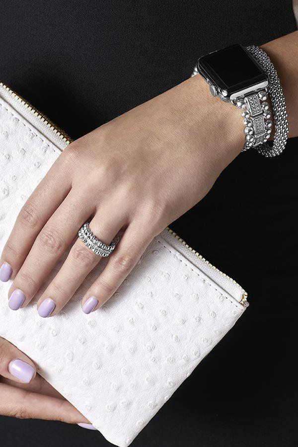 Lagos Smart Caviar Bracelet For The Apple Watch Apple Watch Bands Fashion Apple Watch Accessories Apple Watch Bands Women