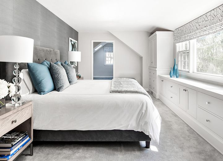 serene gray bedroom | Clean Design