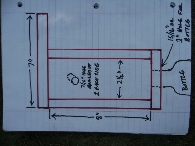 Carpenter Bee Trap Plans Carpenter Bee Trap With Rough