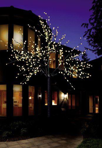 """LED Baum Lichterbaum beleuchtet weiß Lichterzweig Lichterkette Weihnachtsbaum 220 cm 500 LED   Der """"Weihnachtsbaum"""" für das ganze Jahr Größe: 220 cm        andere Größen hier ansehen  Dieser formschöne Lichterbaum für innen und außen ist eine echte Bereicherung für jeden Vorgarten oder wo auch immer er stehen wird. Durch seine 500 warmweißen LED Lichter läßt dieser schöne Weihnachtsbaum in jeder Jahreszeit die Augen und Herzen erstrahlen. Wie auch bei einem künstlichen Weihnachtbaum, lassen…"""