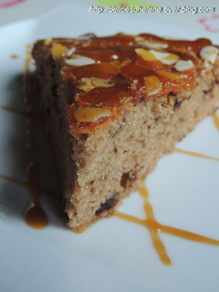 gâteau à la farine de châtaigne, sirop d'érabl-copie-1