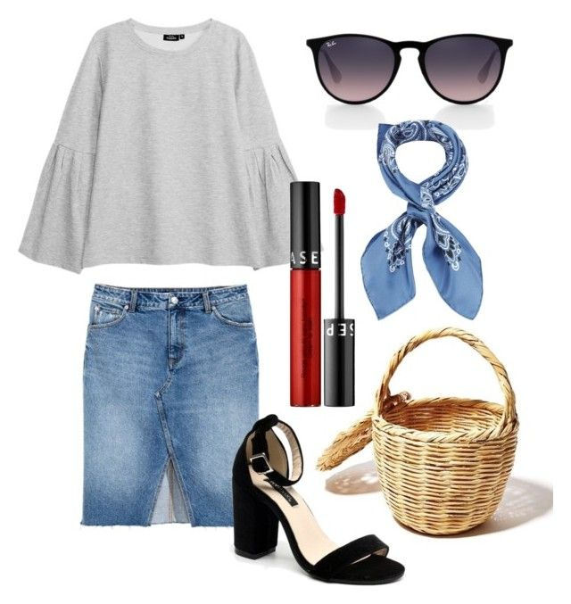 """""""Untitled #256"""" by stinasolheim on Polyvore featuring Ray-Ban, Manipuri and Sephora Collection"""