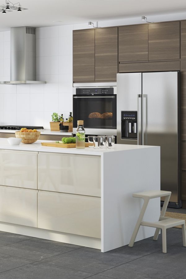 The Perfect Fit For Your New Kitchen Ikea Kitchen Appliances Integrate Seamlessly Into Sektion Cabinets