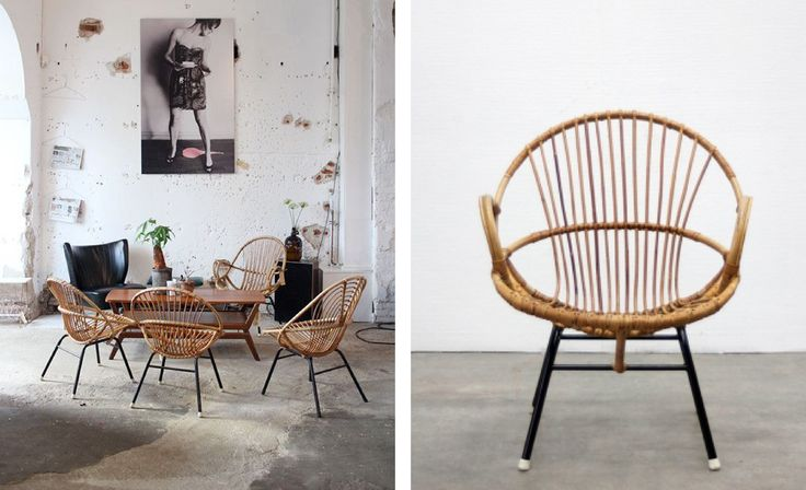 Rotan wordt gebruikt voor veel interieur-items zoals manden, lantaarns, poefen, krukken en vooral stoelen. Inmiddels zijn de rotan-stoelen er in allerlei soorten en maten.