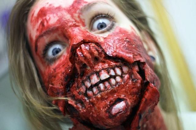 most scariest zombie makeup of all time 11