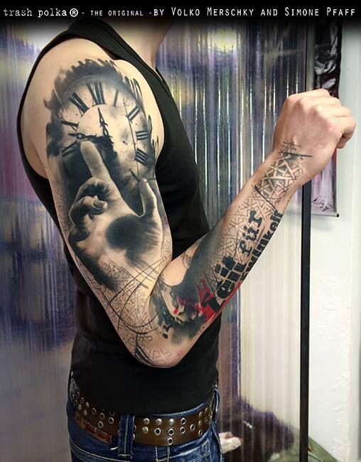 As incríveis tatuagens de Volko Merschky e Simone Pfaff