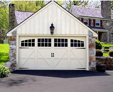 Artisan Custom Doorworks Carriage House Door
