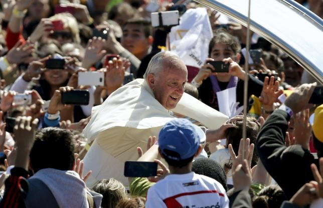 """""""Let us not be afraid to say it: we want change, real change, structural change,"""" the pope said, decrying a system that """"has imposed the mentality of profit at any price, with no concern for social exclusion or the destruction of nature.""""  ~ Pope Francis, speaking in Bolivia on 9 July 2015. Report by Reuters"""