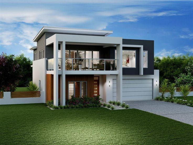 38 best images about duplex facades on pinterest - Modern split level house plans designs ...