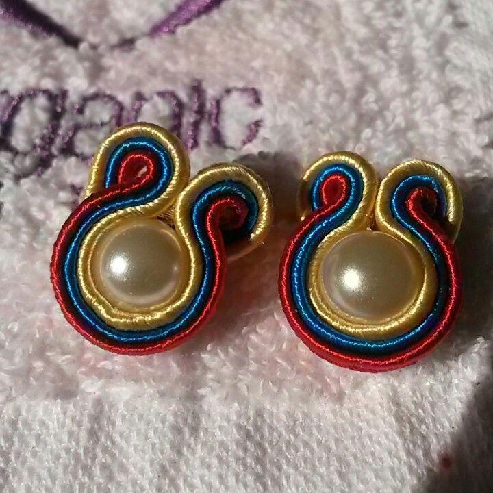 Venezuela soutache earrings