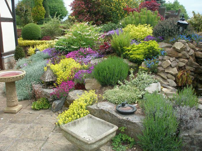Best Rockery Gardening Images On Pinterest Rockery Garden