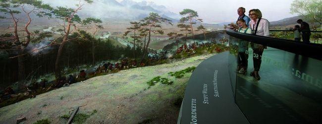 Das Tirol Panorama – giant panoramic painting © Innsbruck Tourismus