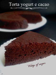 Torta soffice yogurt e cacao ricetta golosa