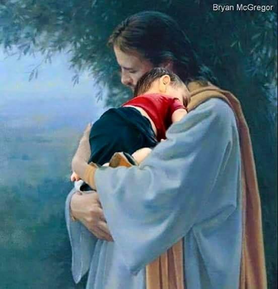 Ailan Kurdi dans les bras de Jésus