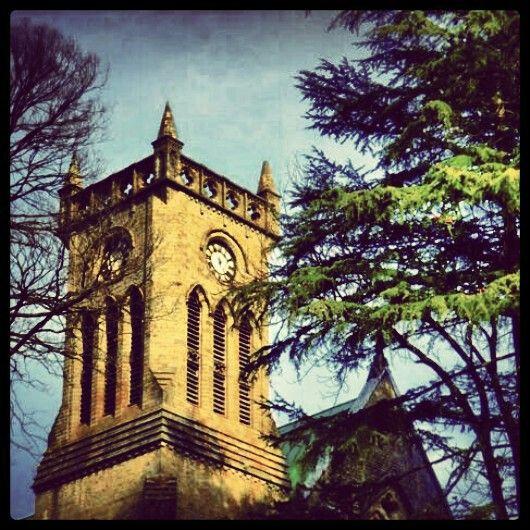 Kasauli..church