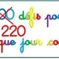 Pour celles et ceux qui organisent la fête du 100e jour, voici une banque de 220 défis CP que j'ai réalisés d'après une idée de Dame Dubois et ses collègues. Lors de cette journée, en...