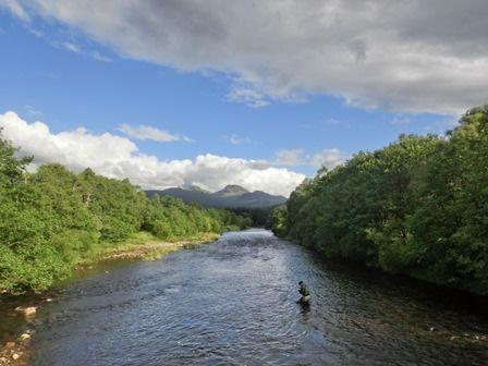 Řeka Falloch