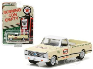 1972 Chevrolet C10 Pickup Truck with Tool Box Texaco 1/64 Diecast Model Car  by Greenlight