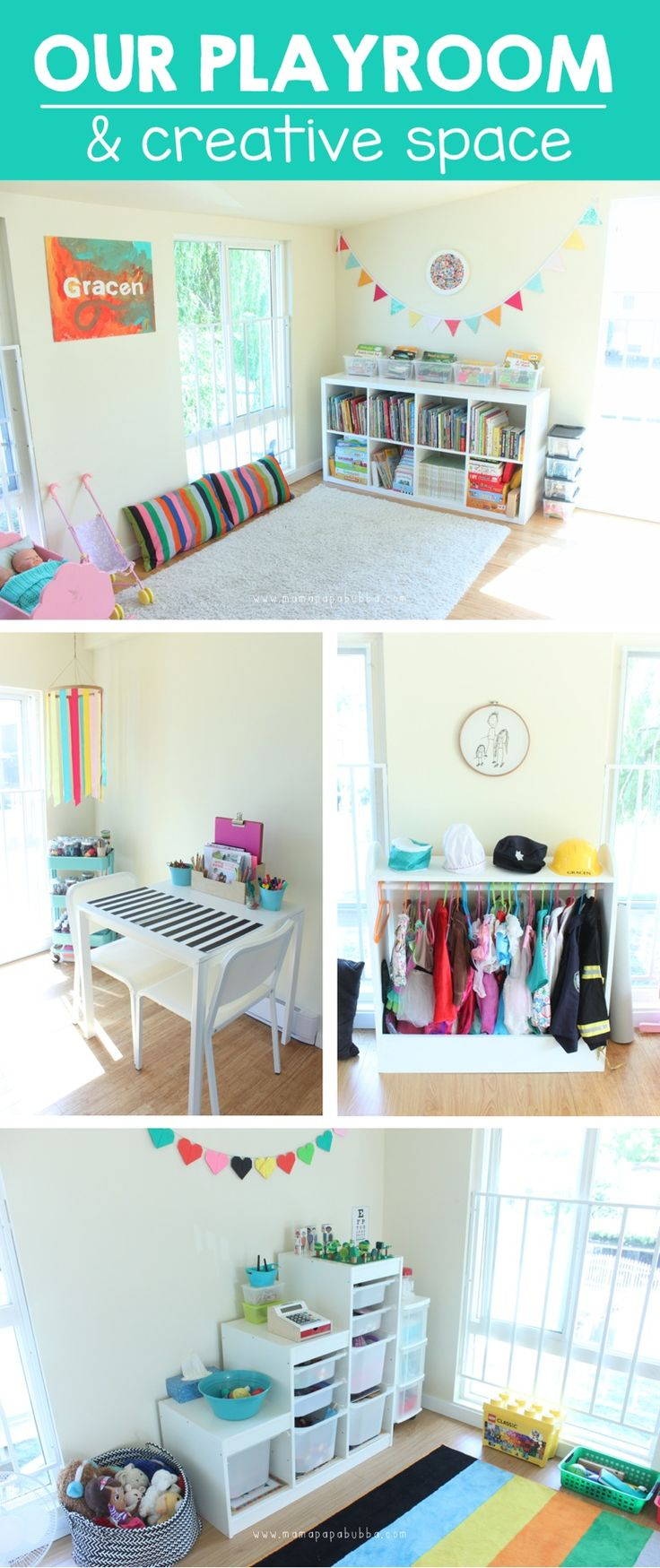 Our Playroom & Creative Space | Mama.Papa.Bubba.
