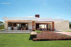 50 fachadas de casas de sonho publicadas na Arquitetura & Construção - Casa: