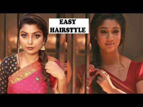 Nayanthara Inspired Hairstyle Tutorial In Tamil Raja Rani Movie