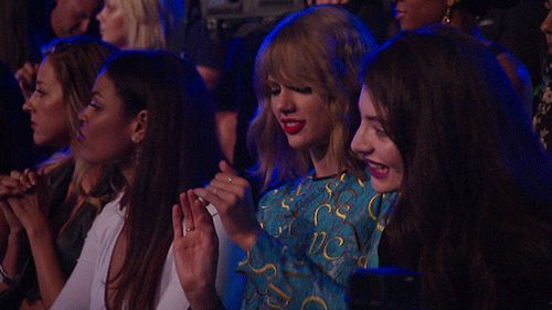10 GIFs of Taylor Swift Dancing Awkwardly with Famous People  - MarieClaire.com