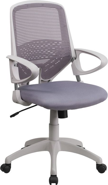 Mesh Mid-Back Office Chair with Arms