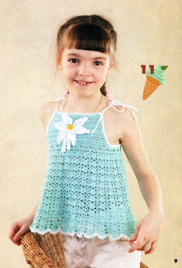 503 besten vestidos para niñas en crochet Bilder auf Pinterest ...