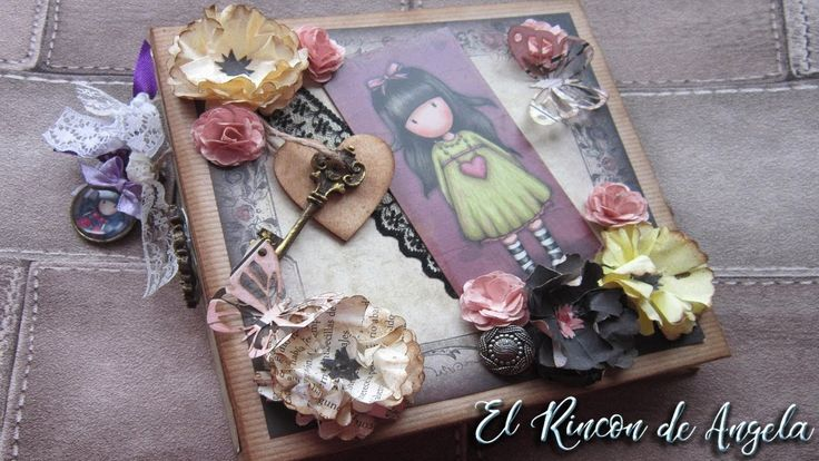 Scrapbooking  Album scrap gorjuss- Diy manualidades y scrapbook