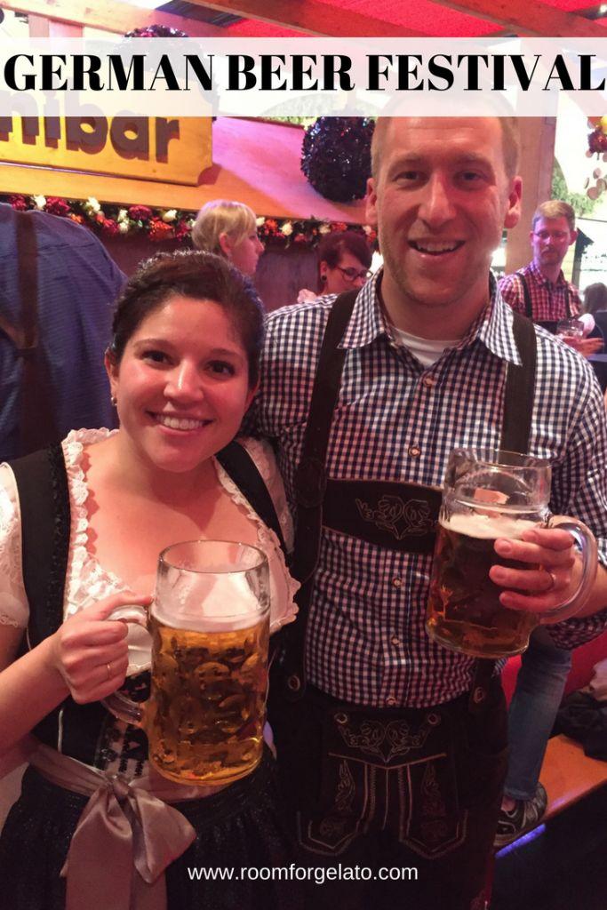 Surviving a German Beer Festival