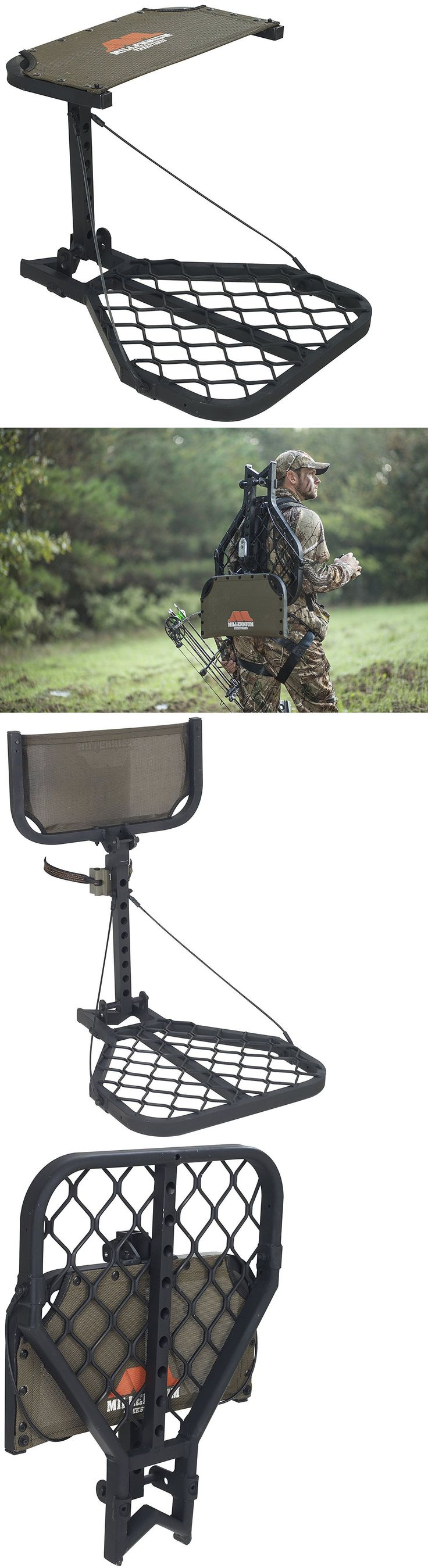 Tree Stands 52508: Millennium Treestands M7 Microlite Hang-On Tree Stand (Includes Safety Line) -> BUY IT NOW ONLY: $262.79 on eBay!